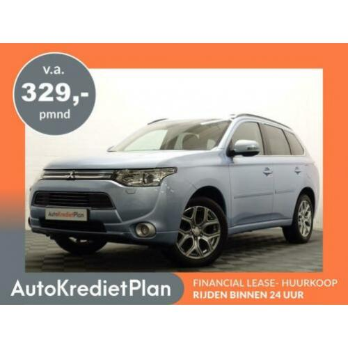 Mitsubishi Outlander 2.0 PHEV Instyle+ X-Line 4WD Aut, Leer,