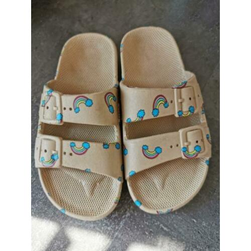 Freedom moses slippers maat 28/29 ism bandy button